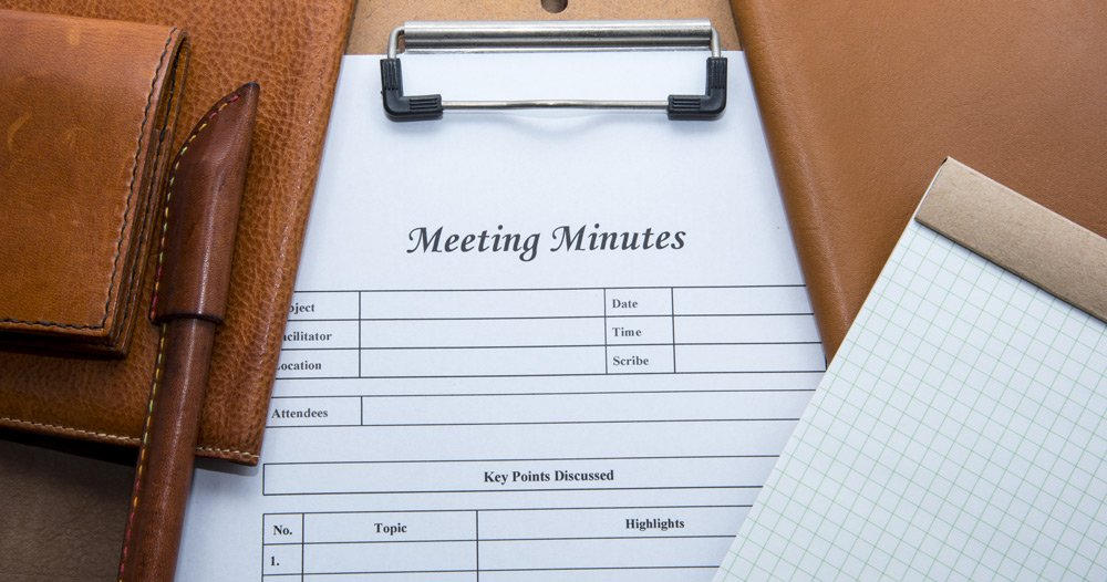 6 tips for speedy minutes