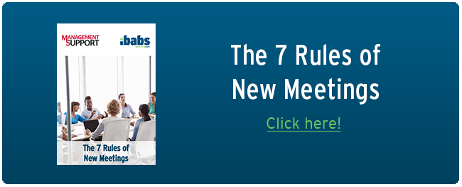 The 7 Rules of New Meetings